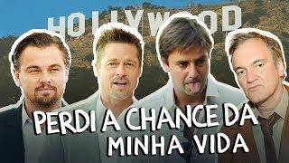 #publi  - Filme em Hollywood: Tarantino, Brad Pitt, Dicaprio, Al Pacino e...EU? #EnglishLive