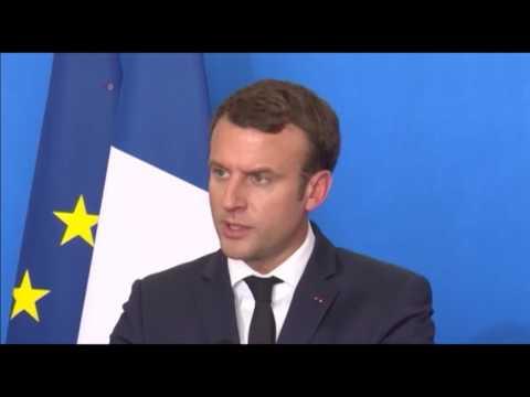 Visite d'Emmanuel Macron au Mali (vidéo)