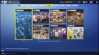 Fortnite how to get training manual and designs