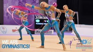 HIGHLIGHTS 2014 Rhythmic Worlds Izmir Groups 3 2 We are Gymnastics