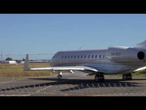 Bombardier Global Express XRS Start-Up and Departure