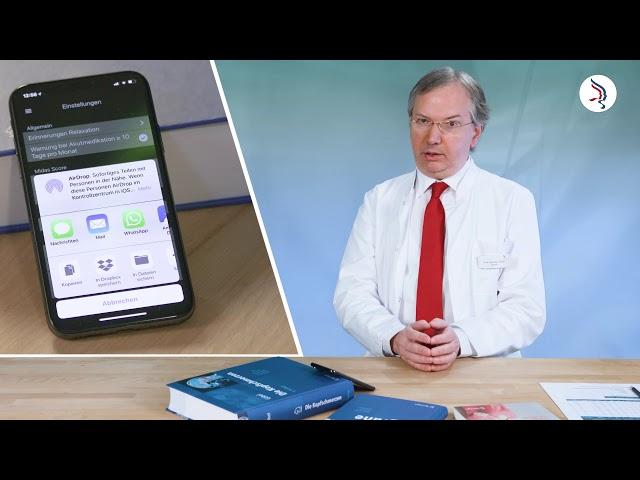 Datensicherung, Export/Import der Daten - Die Migräne-App