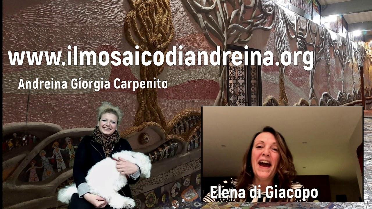 Storie del mosaico: Elena arrivata al mosaico dalla Svizzera
