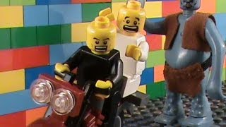 black white a lego film
