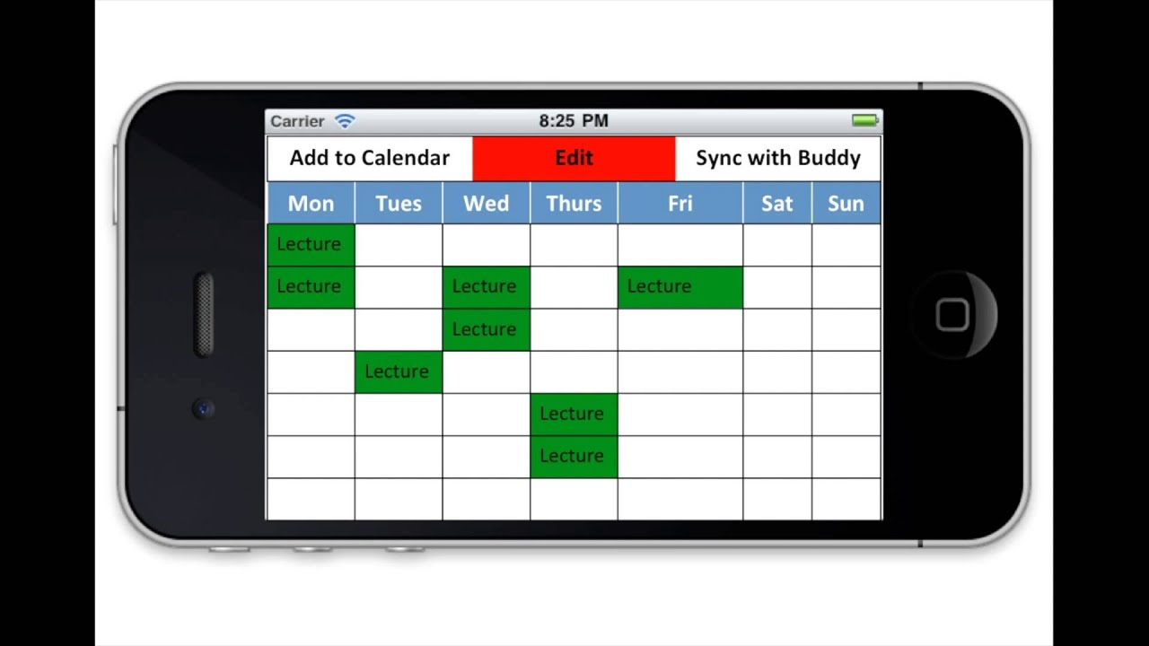 timetable creater