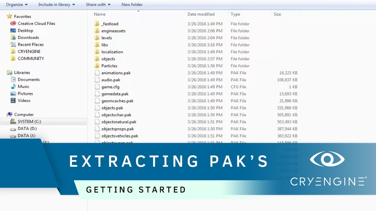 How to extract files from unencrypted PAK files | Getting Started