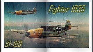 Messerschmitt Bf 109 - Combat Montage - Caça Alemão 1935 - War Thunder / Cheap Trick - Mighty Wings