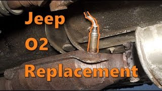Jeep 4.0 O2 Sensor Replacement