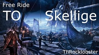 Witcher 3 (How to Get to Skellige Free)