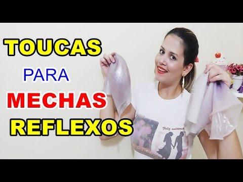 MODELOS DE TOUCA QUE UTILIZO PARA MECHAS E REFLEXO QUAL ESCOLHER ... 083d431d191