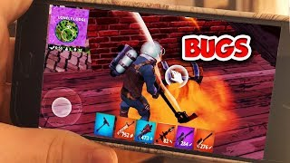 TRUHEN & ITEM BUGS..! 📲 FORTNITE am HANDY | FORTNITE MOBILE: Battle Royale (Deutsch)