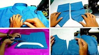 Kurta| men's kurta stiching | kurta ki stitching kayse Karen | how to stich a gents kurta|