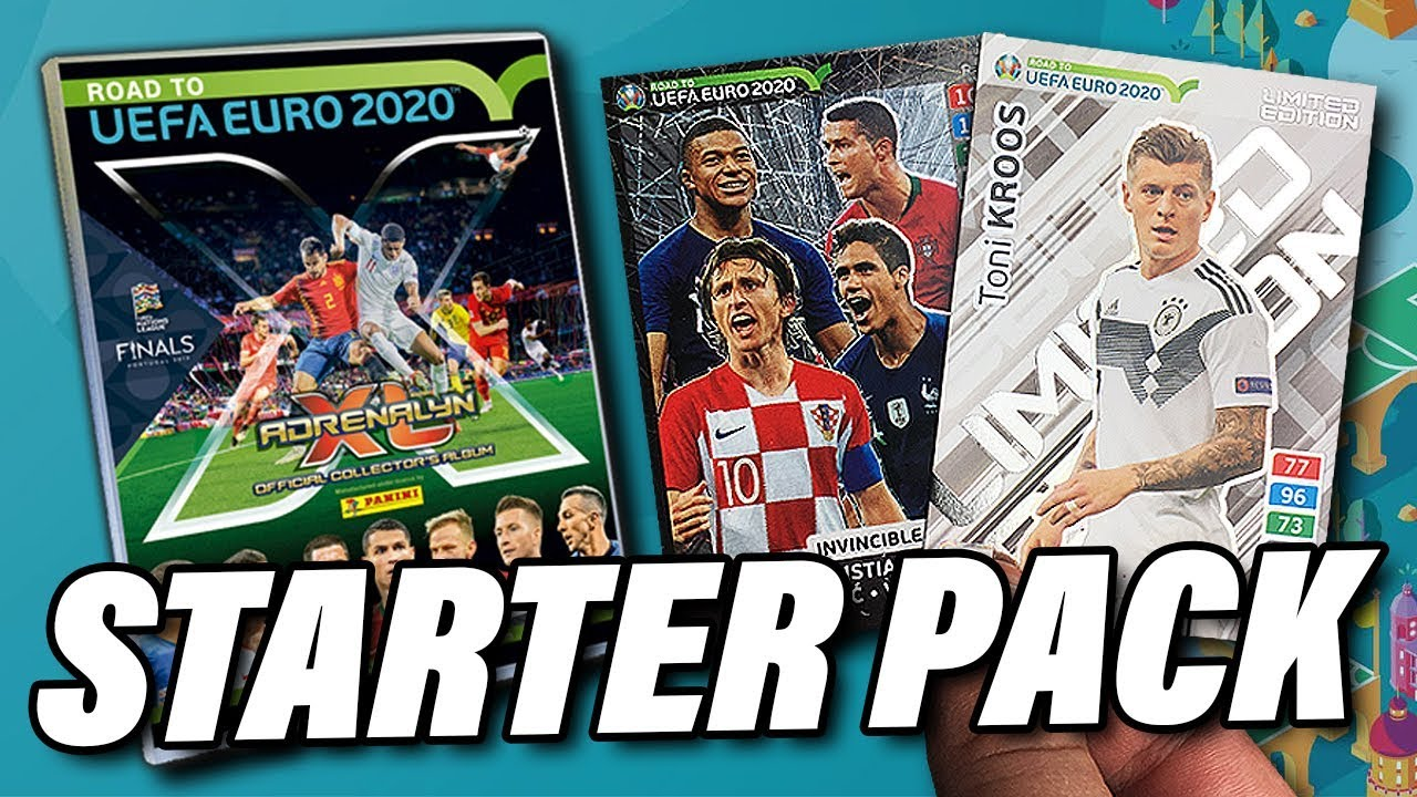 Mega Starter Pack Panini Road To Euro 2020 Adrenalyn Xl Karten Unboxing