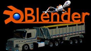 Como Editar Caminhão ETS2 - Blender #2 SÉRIE