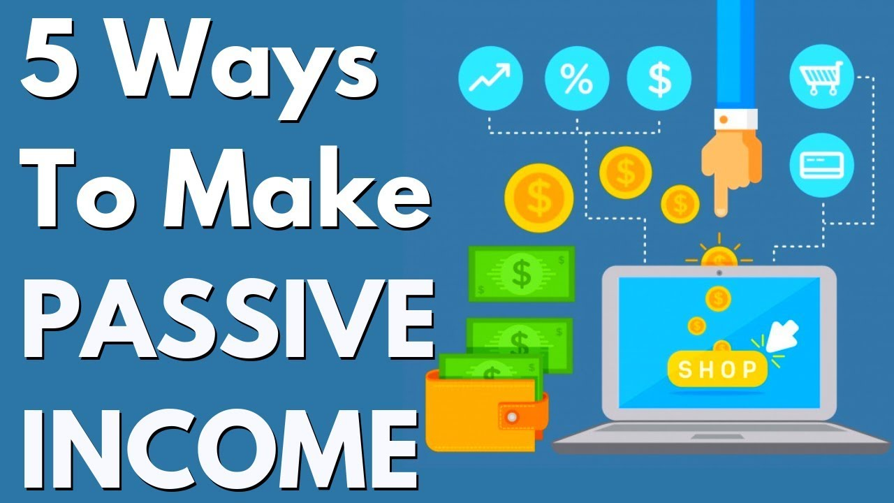 5 REAL Ways Make Passive Income Online   The Social Traffic Method