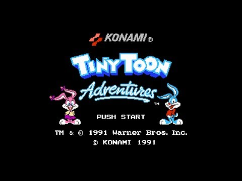 Tiny Toon Adventures (NES): Полное Прохождение