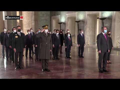 Anadolu Ajansı Yönetim Kurulu, Anıtkabir'i ziyaret etti