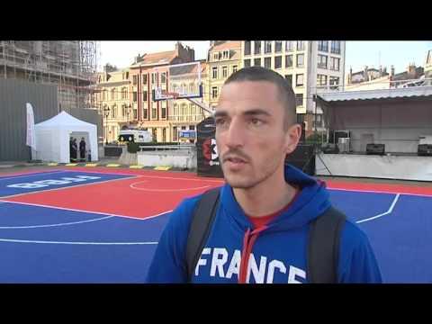 Eurobasket : le village basket à Lille