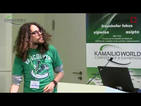 Kamailio World 2016 - Bridging SIP And WebRTC With Janus Gateway