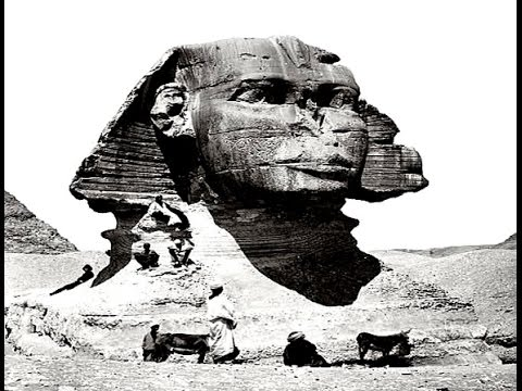 Rare Pictures of The Sphinx of Giza