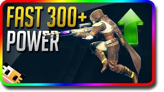 Destiny 2 - How To Power Level Fast & Rank Up Fast 300+ (Destiny 2 Farm Spots, Token, Glimmer)