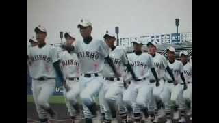 第94回全国高等学校野球選手権愛媛大会 新居浜商業の入場行進