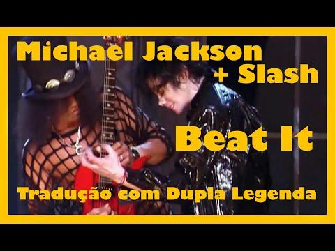 Michael Jackson Ft Slash - Beat It (Live 2001) Legendado Em PT/ENG