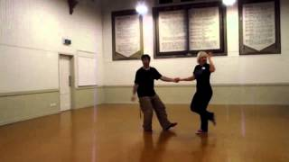 Beginners Swing Dance (Lindy Hop) lesson Around the World, Points and Mini Dip (17/06/13)
