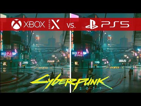 Сравнение Cyberpunk 2077 на разных консолях: Xbox One, Xbox Series X   S, Playstation 4, Playstation 5