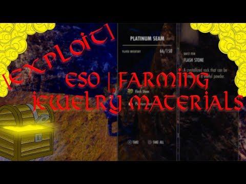 ESO   [EXPLOIT] Farming Jewelry Materials