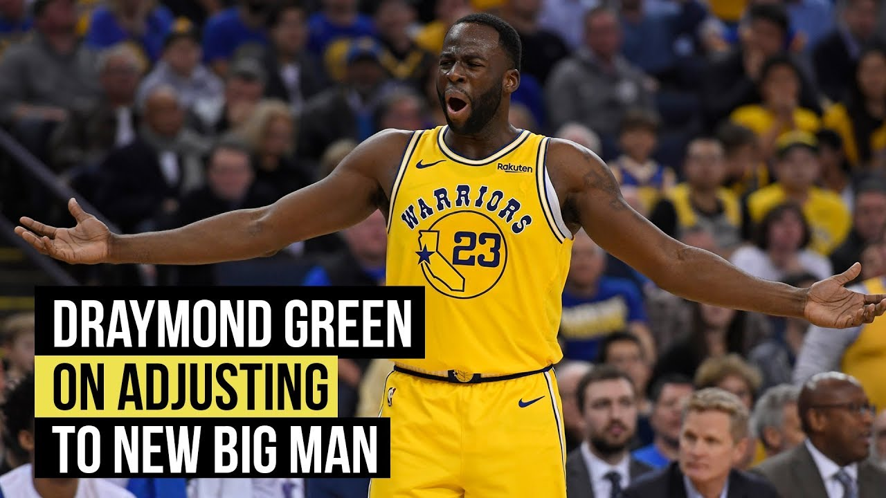 Draymond Green on adjusting to DeMarcus Cousins