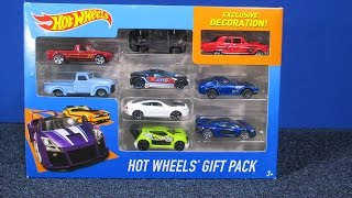 Hot Wheels Gift Pack Exclusive Ford Thunderbolt! Includes Nissan Fairlady Z, McLaren P1 and more!