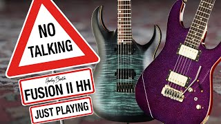 Harley Benton - No Talking - Fusion II & Amarok 6 - Just Playing -