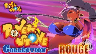 Power Stone Collection PSP Playthrough - POWER STONE 1 STORY MODE with ROUGE