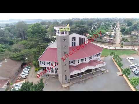 Thika town aerial shots