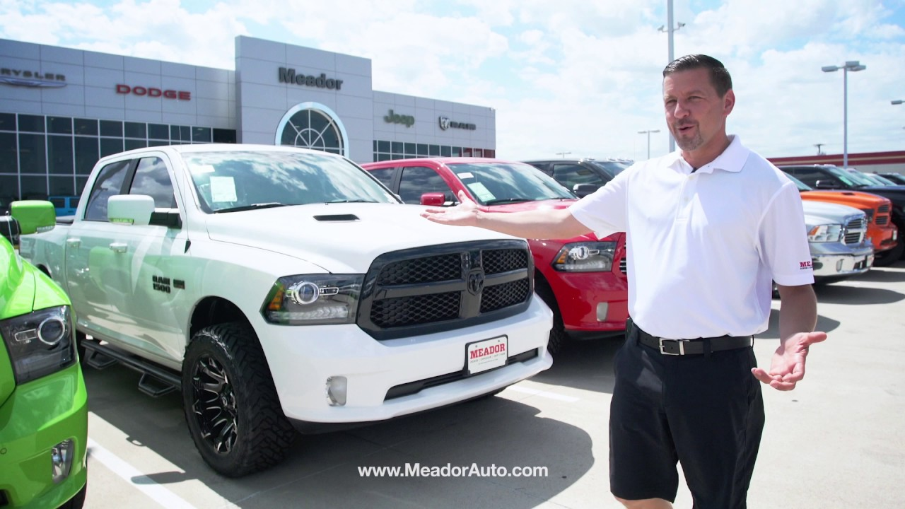 Meador Dodge Chrysler Jeep >> Meador Fort Worth Tour with Kevin Eidson - YouTube