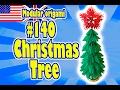 3D MODULAR ORIGAMI #140 CHRISTMAS TREE