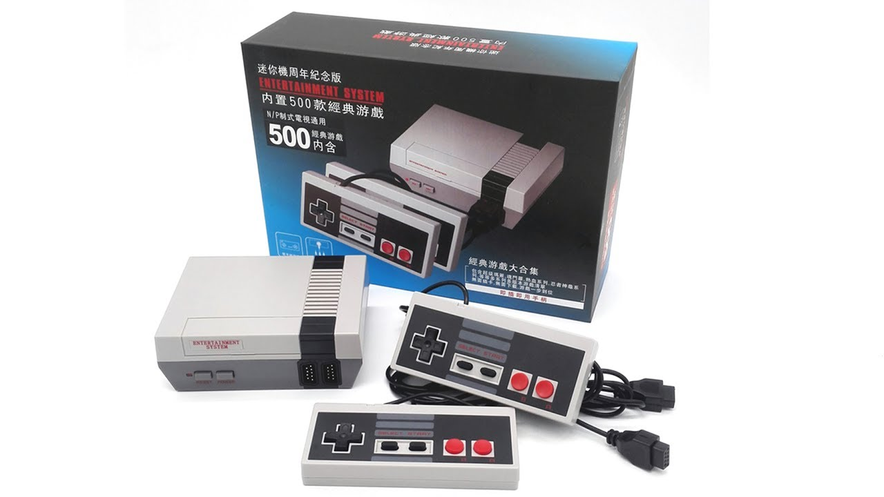 9fac0411d371 Nintendo clone built-in 500 games video game consoles TV entertainment  system PAL   NTSC General
