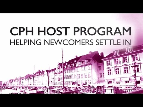 Copenhagen Host Program 2017 - Helping newcomers to settle in (short)