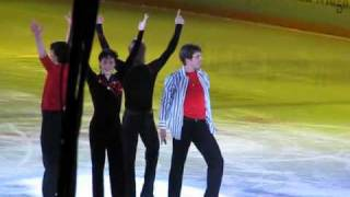 КОРОЛИ ЛЬДА : Johnny Weir, Evgeny Plushenko, Stephane Lambiel &  Brian Joubert