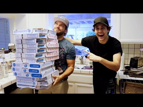HOW TO GET 13 PIZZAS FOR FREE!!