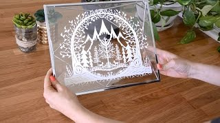 Framing your Paper Cut - Video 3 of the Paper Cutting Series