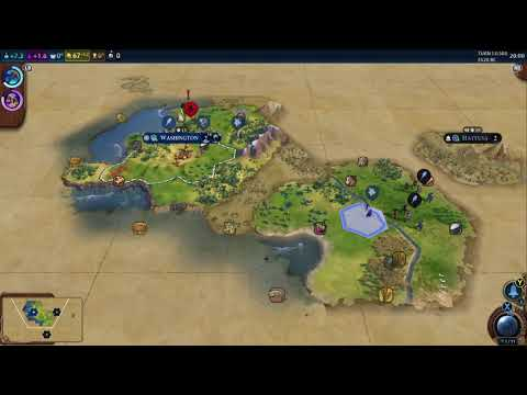[4K] 1 Hour Of Sid Meier's Civilization VI (6) Gameplay On Xbox One X