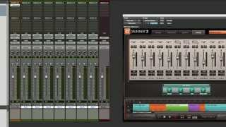 How to Mix with EZdrummer 2 in Pro Tools 11 - Sweetwater Sound thumbnail