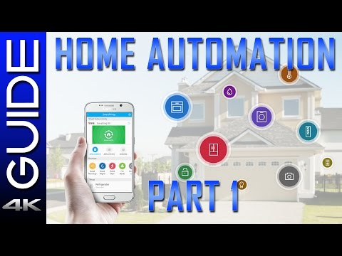 Home Automation Guide 2017 - Part 1 - New Echo Dot, SmartThings vs Wink Hub, Harmony, Hue, Nest