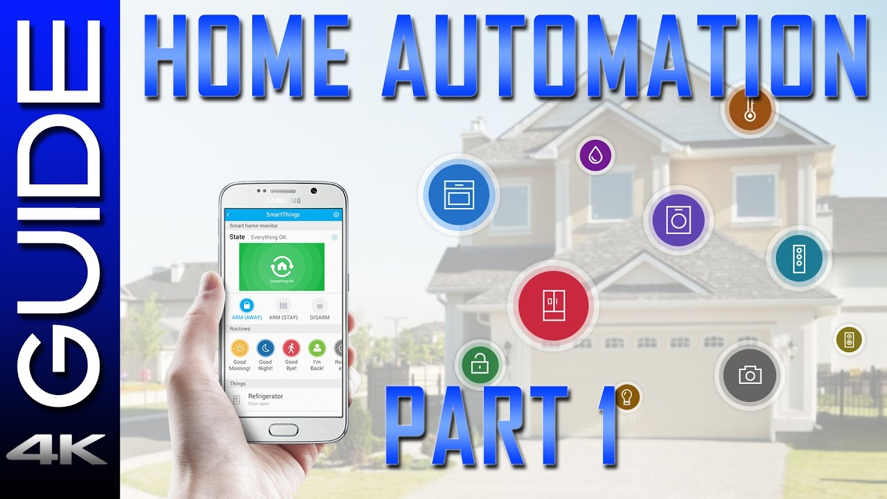Smart Home Automation Guide 2017 - Part 1 - Echo Dot, SmartThings vs ...