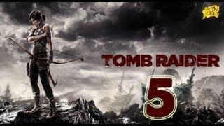 Tomb Raider 2013-серия 5 ч.1 [Поднимаясь к истоку водопада.]