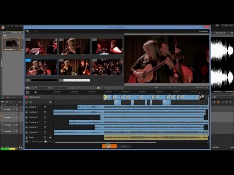 MultiCam Editor Tutorial in Pinnacle Studio