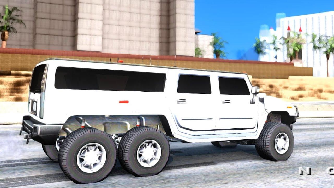 Hummer H6 - GTA San Andreas - YouTube