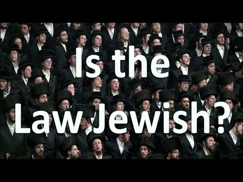 """""""Is the Law Jewish?"""" (10/1/16 Broadcast)"""